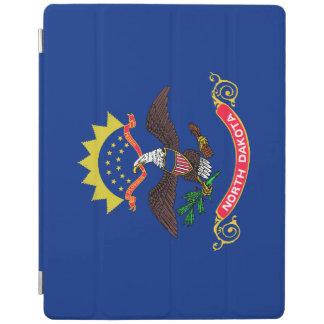 Capa Smart Para iPad Bandeira de North Dakota