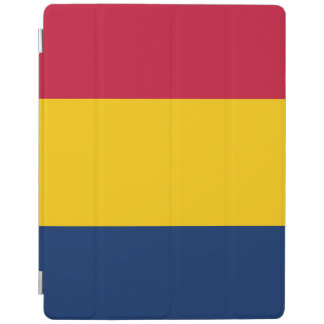 Capa Smart Para iPad Bandeira de República do Tchad