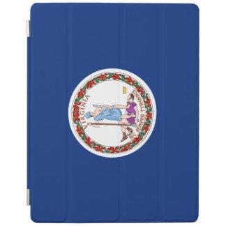Capa Smart Para iPad Bandeira de Virgínia