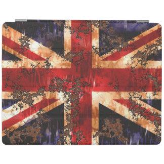 Capa Smart Para iPad Bandeira patriótica oxidada de Reino Unido