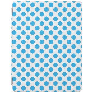Capa Smart Para iPad Bolinhas azuis