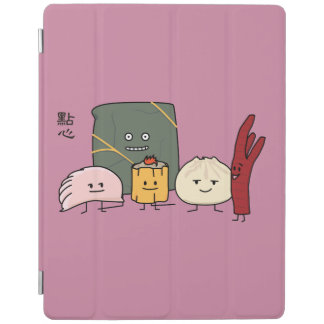 Capa Smart Para iPad Bolo chinês dos bolos da bolinha de massa de Bao