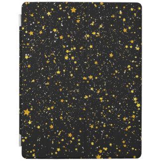 Capa Smart Para iPad Brilho Stars3 - Preto do ouro