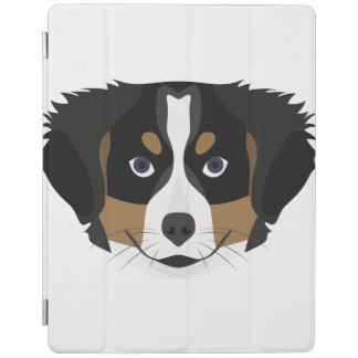 Capa Smart Para iPad Cão de montanha de Bernese da ilustração