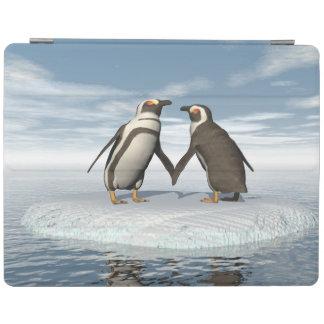 Capa Smart Para iPad Casal dos pinguins