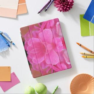 Capa Smart Para iPad Caso do iPad da grinalda do rosa do rosa