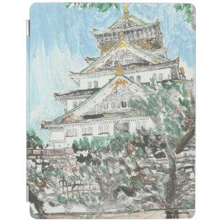 Capa Smart Para iPad Caso do iPad de Japão do castelo de Osaka
