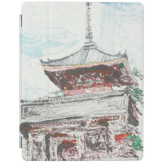 Capa Smart Para iPad Caso do iPad de Kyoto Japão do templo de