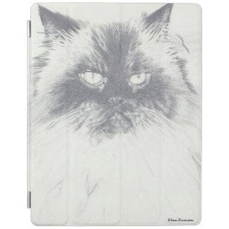 Capa Smart Para iPad Caso do iPad do desenho do gato