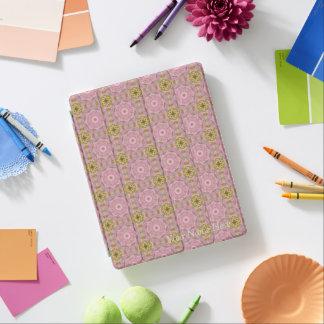 Capa Smart Para iPad Caso floral do iPad da mandala do vintage