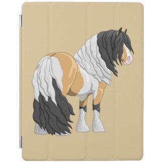 Capa Smart Para iPad Cavalo de esboço aciganado de Vanner do Pinto