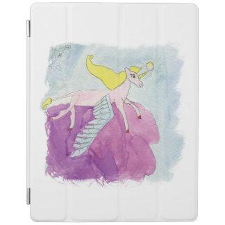 Capa Smart Para iPad Cavalo voado pônei de Alicorn da aguarela