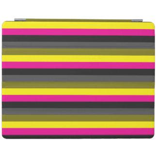 Capa Smart Para iPad cinza amarelo de néon na moda fresco da parte