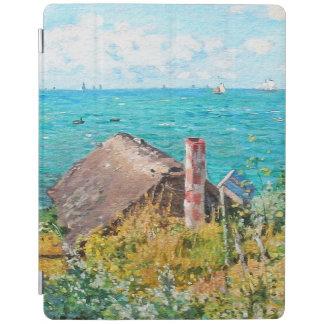 Capa Smart Para iPad Claude Monet a cabine em belas artes do