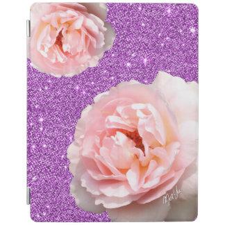 Capa Smart Para iPad Cobrir esperto do iPad 2/3/4 floral roxo chique do
