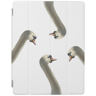Capa Smart Para iPad Cobrir esperto do iPad branco das cisnes