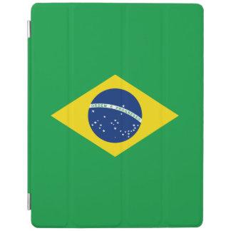 Capa Smart Para iPad Cobrir esperto do iPad da bandeira de Brasil