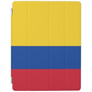 Capa Smart Para iPad Cobrir esperto do iPad da bandeira de Colômbia