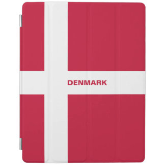 Capa Smart Para iPad Cobrir esperto do iPad da bandeira de Dinamarca