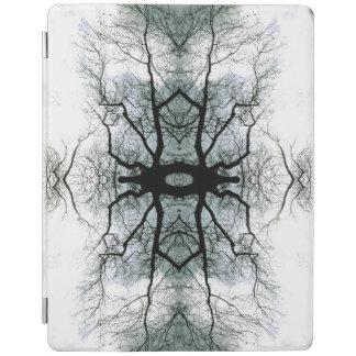 Capa Smart Para iPad Cobrir esperto do iPad dos ramos de árvore