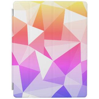 Capa Smart Para iPad Cobrir geométrico brilhante do teste padrão dos