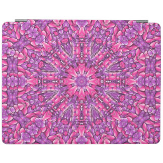 Capa Smart Para iPad Cobrir roxos cor-de-rosa de Smart do iPad do