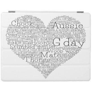 Capa Smart Para iPad Coração australiano do calão