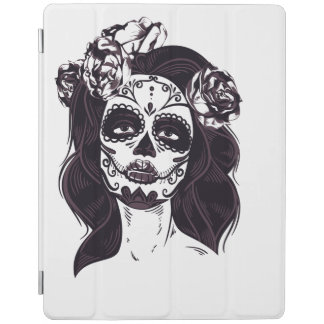 Capa Smart Para iPad Crânio da máscara