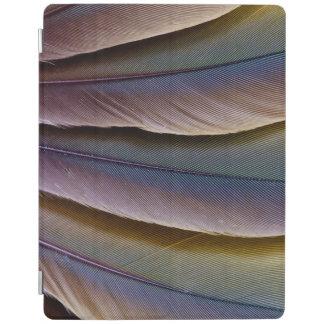 Capa Smart Para iPad Design da pena do Macaw de Buffon