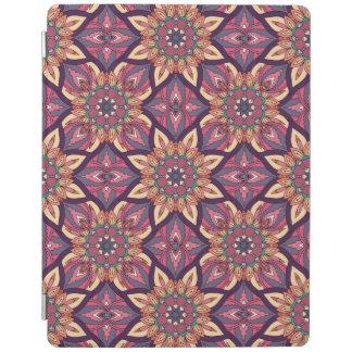 Capa Smart Para iPad Design floral do teste padrão do abstrato da