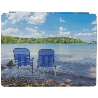 Capa Smart Para iPad Dia perfeito no lago