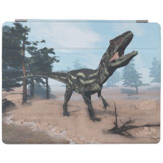 Capa Smart Para iPad Dinossauro do Allosaurus que ruje - 3D rendem