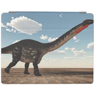 Capa Smart Para iPad Dinossauro do Apatosaurus no deserto - 3D rendem