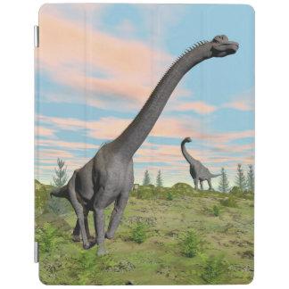 Capa Smart Para iPad Dinossauros do Brachiosaurus - 3D rendem