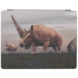 Capa Smart Para iPad Dinossauros do mamífero de Elasmotherium - 3D