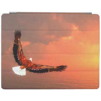 Capa Smart Para iPad Eagle que voa ao sol - 3D rendem