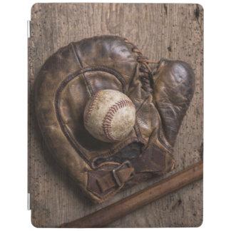 Capa Smart Para iPad Equipamento de basebol do vintage
