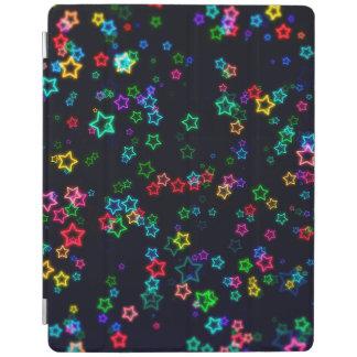 Capa Smart Para iPad Estrela de néon feliz