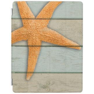Capa Smart Para iPad Estrela do mar alaranjada