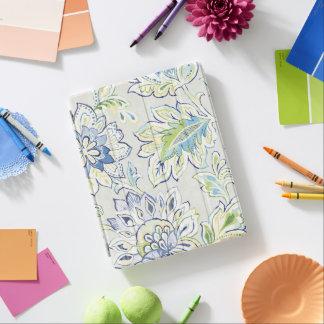 Capa Smart Para iPad Flor azul boémia