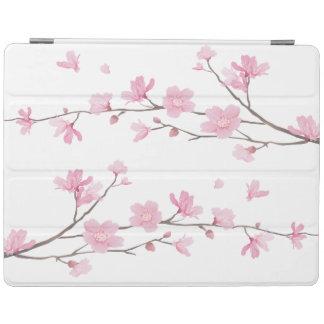 Capa Smart Para iPad Flor de cerejeira - fundo transparente