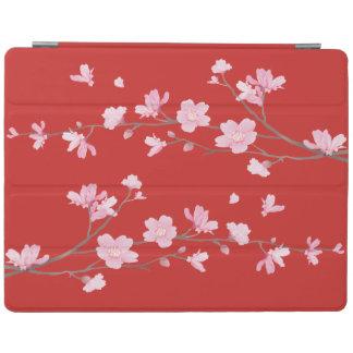 Capa Smart Para iPad Flor de cerejeira - vermelho