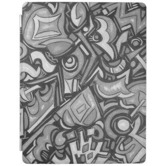 Capa Smart Para iPad Formas lunáticas corajosas Funky do divertimento