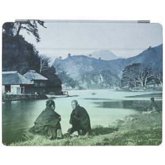 Capa Smart Para iPad Fotografia do vintage:  Vila japonesa rara