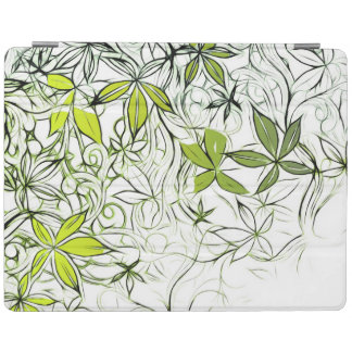 Capa Smart Para iPad Fundo floral moderno 234