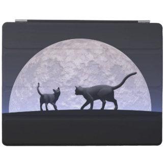 Capa Smart Para iPad Gatos românticos