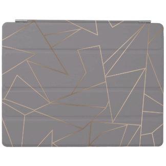 Capa Smart Para iPad Geométrico minimalista moderno elegante do ouro