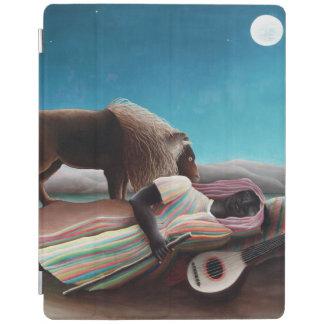 Capa Smart Para iPad Henri Rousseau o vintage aciganado do sono