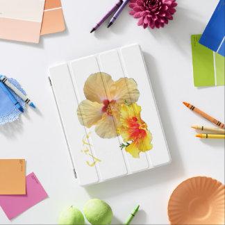 Capa Smart Para iPad HIBISCUS do ☼, flor do ☼ da paixão