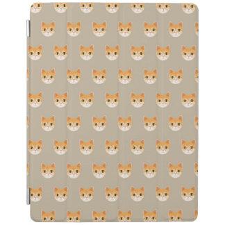 Capa Smart Para iPad Ilustração bonito do gato de gato malhado